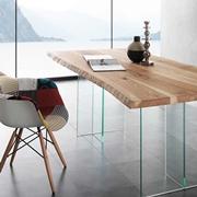 Tavolo La Seggiola mod. Bio-glass art. 704 VE
