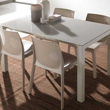 Tavolo la seggiola jumper rettangolari rettangolari allungabili vetro tavoli a prezzi scontati - Tavolo vetro temperato opinioni ...