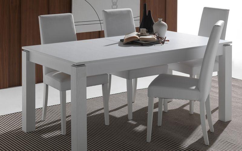 Tavolo la seggiola rialto rettangolari rettangolari for Tavoli rettangolari allungabili in legno