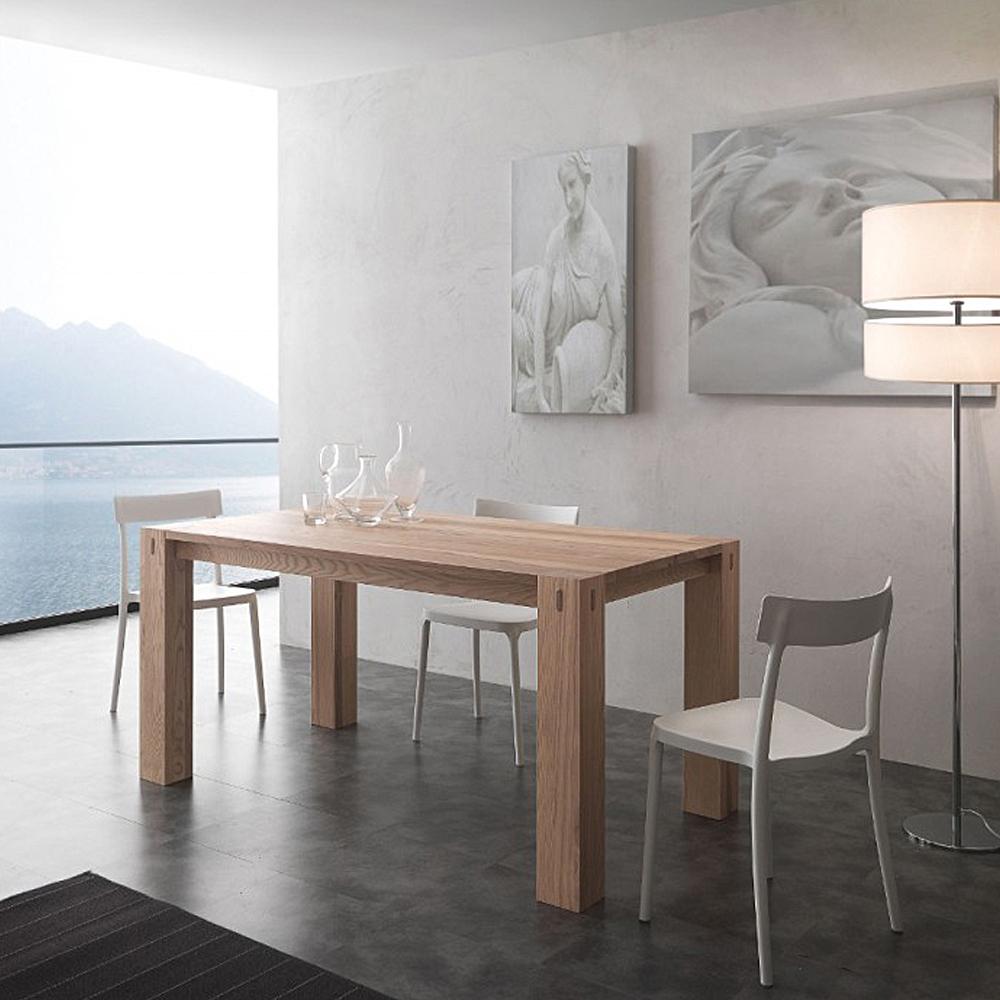 Tavoli da cucina in legno massello allungabili tavoli e for Tavoli allungabili da cucina