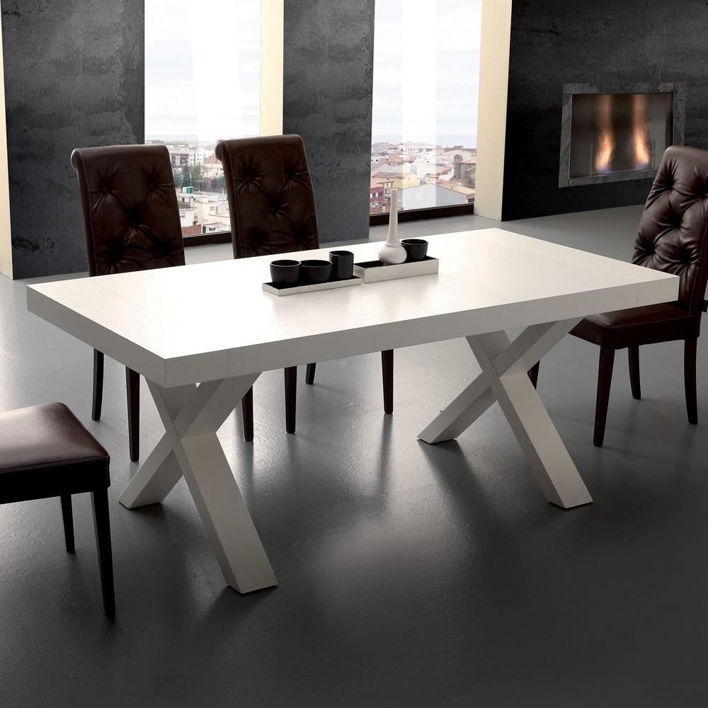 Tavolo quadrato 8 posti tavoli cucina allungabili moderni | Ocrav