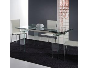 Tavolo Laseggiola modello Glass