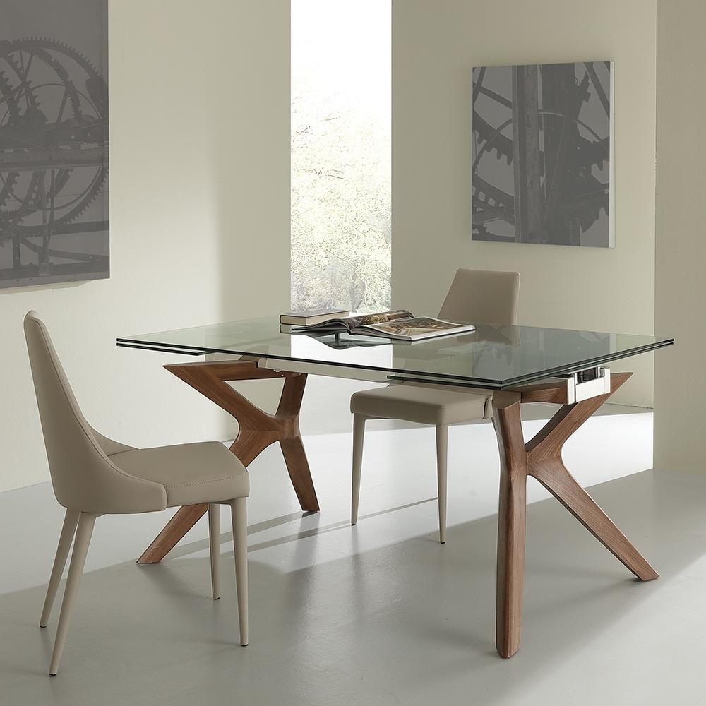 Tavolo laseggiola modello palladio tavoli a prezzi scontati for Tavoli in vetro e legno