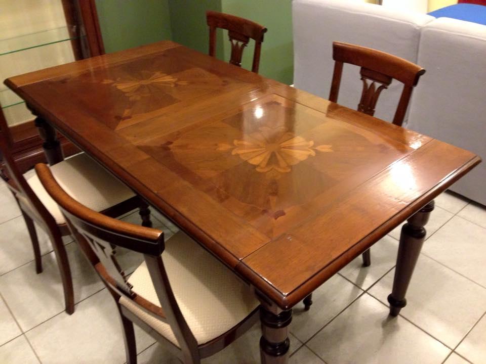 Tavolo rettangolari allungabili legno tavoli a prezzi for Tavoli in legno allungabili
