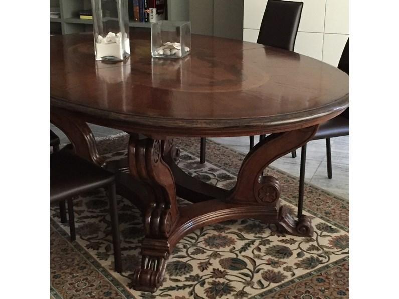 Tavolo Tavolo ovale Ovali Ovali allungabili Legno
