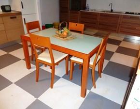 Tavolo LineGianser Tavolo rettangolare legno/vetro lineegianser scontato del -56 %