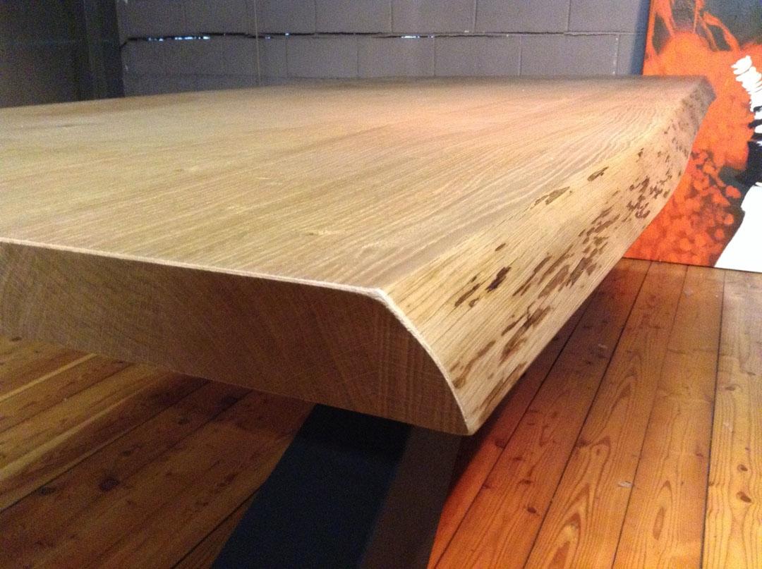 Tavolo living in legno rovere di riflessi scontato del 30 - Tavoli in legno prezzi ...