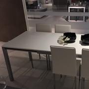 Tavolo Majestic con 4 sedie Lara