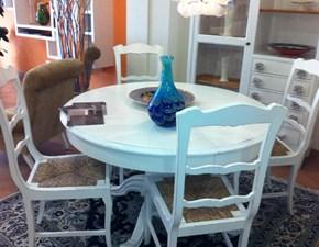 tavolo tondo allungabile di marchetti in offerta