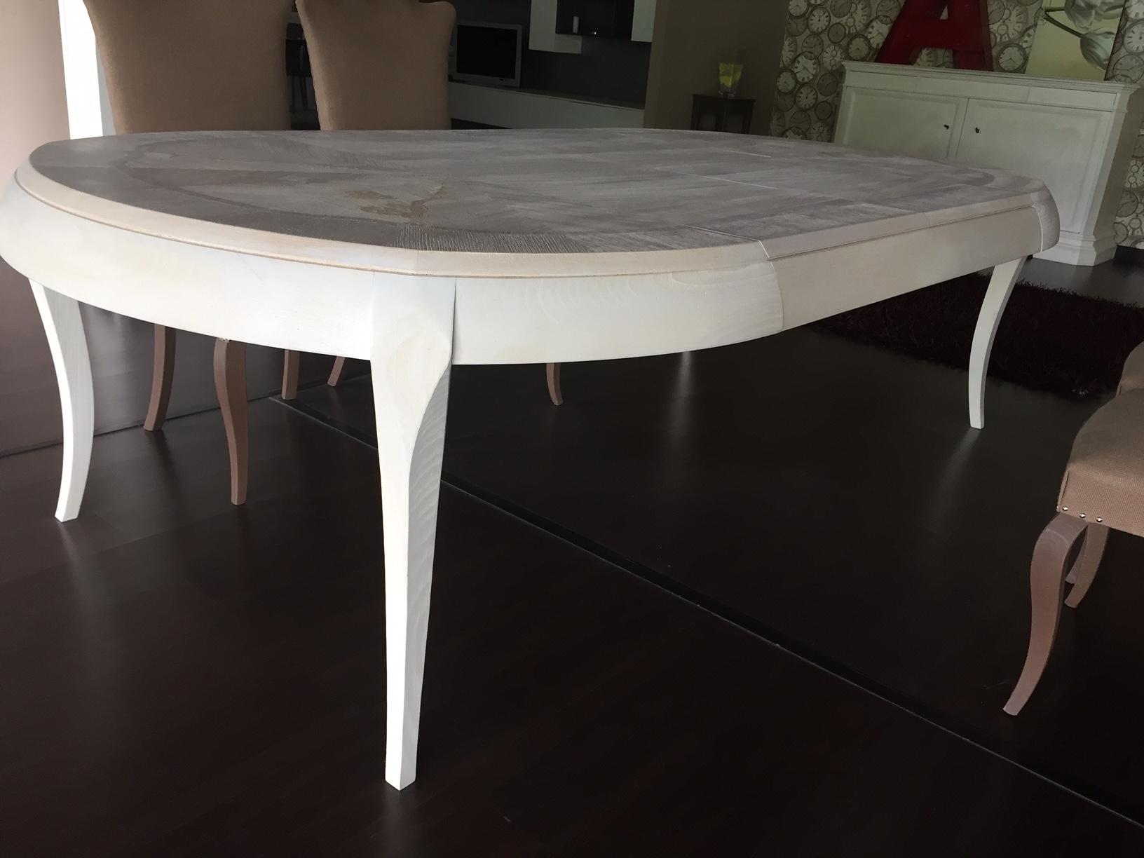 Tavolo marchetti volver rotondo allungabili tavoli a for Outlet tavoli moderni allungabili