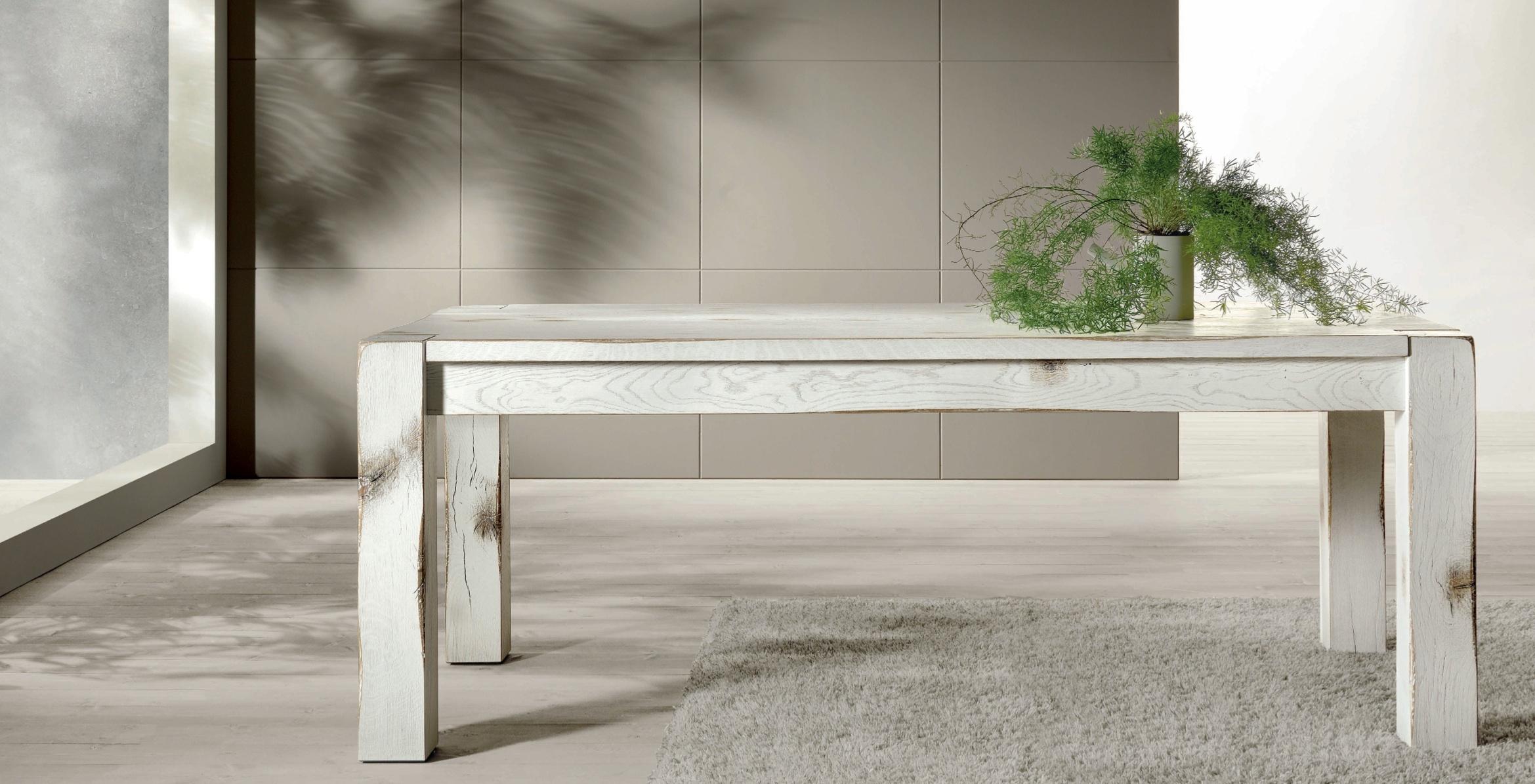 Tavolo tavolo cortina in quercia rettangolari tavoli a for Gambe tavolo legno leroy merlin