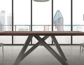 Tavolo Materia Di lazzaro in legno Fisso