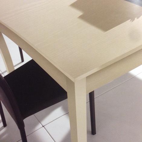Tavolo Max Home Tavolo allungabile in laminato Quadrati ...