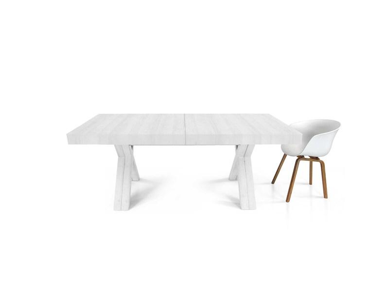 Tavolo Maxi Allungabile Fino A 4 Metri In Tre Finiture Colore Fine Produzione Md Work In