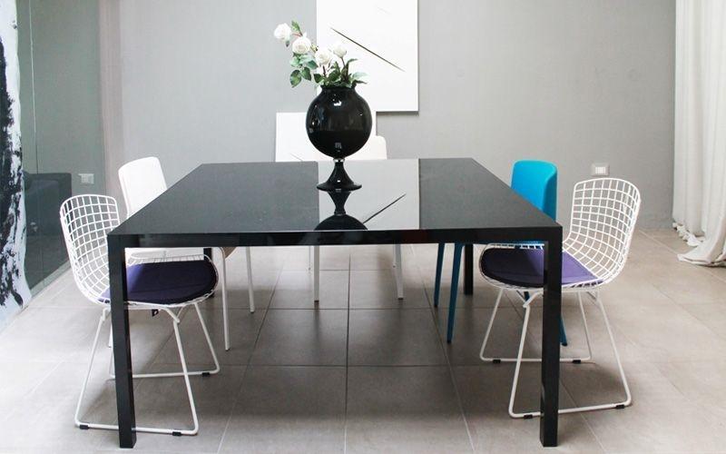 Tavolo mdf italia modello colors tavoli a prezzi scontati for Tavolo quadrato allungabile vetro