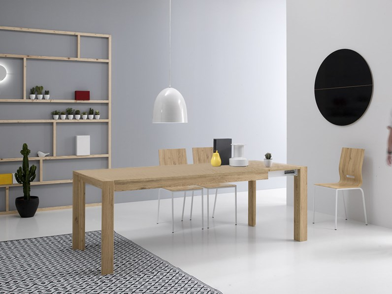 tavolo milano 140 rettangolare allungabile sconto 42