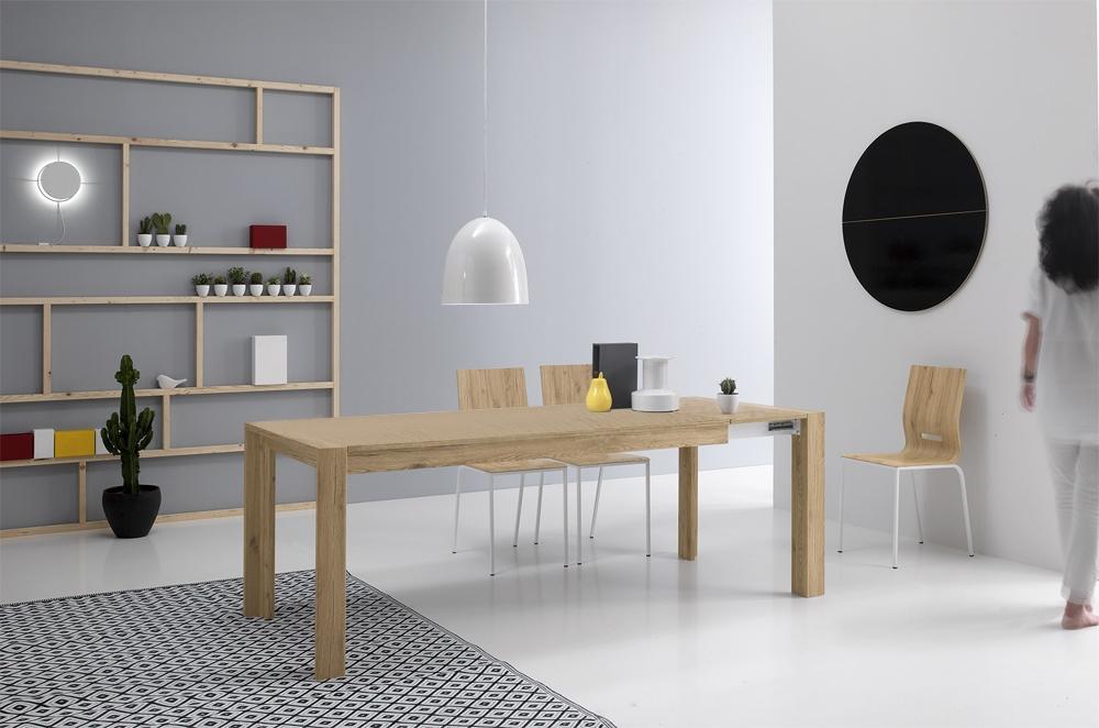 Tavolo milano 140 rettangolare allungabile sconto 42 for Tavoli design milano