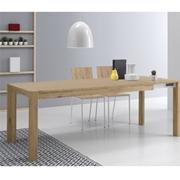 Tavolo allungabile mira in legno tavoli a prezzi scontati - Tavolo allungabile milano ...