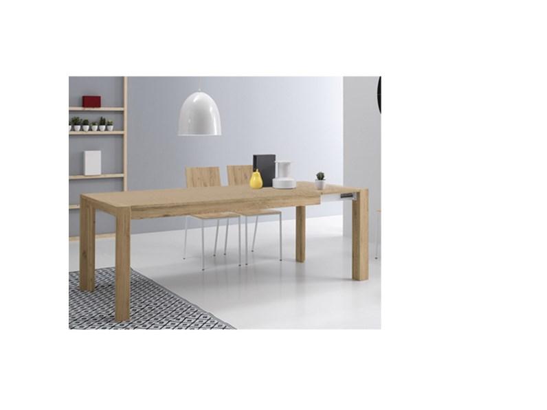 Tavolo milano 160 rettangolare allungabile sconto 42 tavoli a prezzi scontati - Tavolo allungabile milano ...