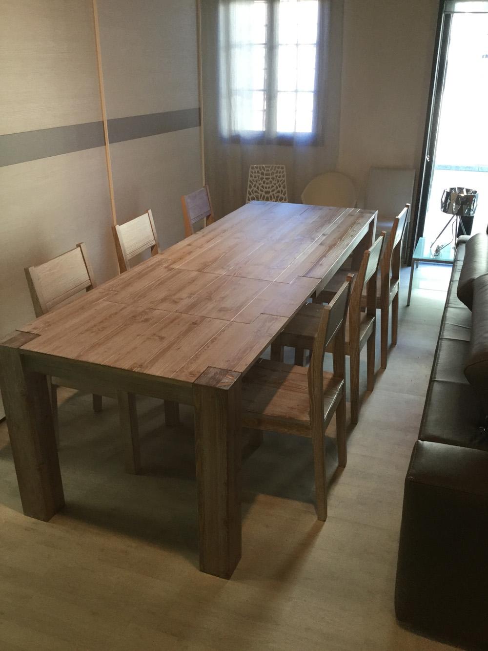 Tavolo mirandola wood and city rettangolari rettangolari for Tavoli rettangolari allungabili in legno
