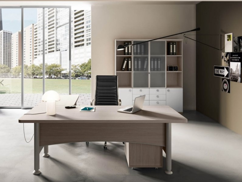 Tavolo mobili ufficio direzionale kronos 01 zg mobili in for Outlet ufficio