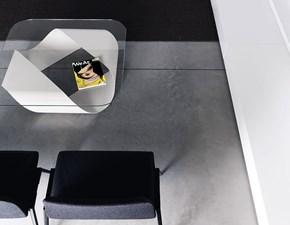 Tavolo Mobius Kristalia in vetro Fisso