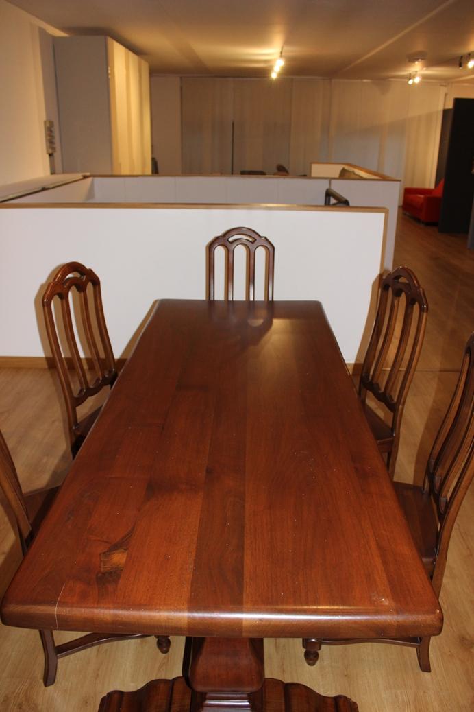 Tavolo modello dalia classico 6 sedie classiche scontate for Tavolo classico