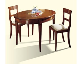 Tavolo Modello quadrifogli Artigianale in legno Allungabile