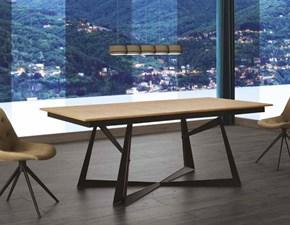 Tavolo bontempi casa artistico rettangolari allungabili legno - Larghezza tavolo ...