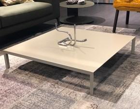 Tavolo Mono Pianca in laccato Fisso