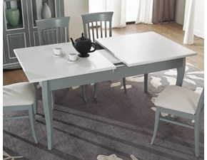 Tavolo Mottes mobili tavolo in legno massello allungabile Artigianale in legno Rettangolare allungabile