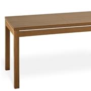 Tavolo Ada Natisa allungabile in legno e impiallacciato noce