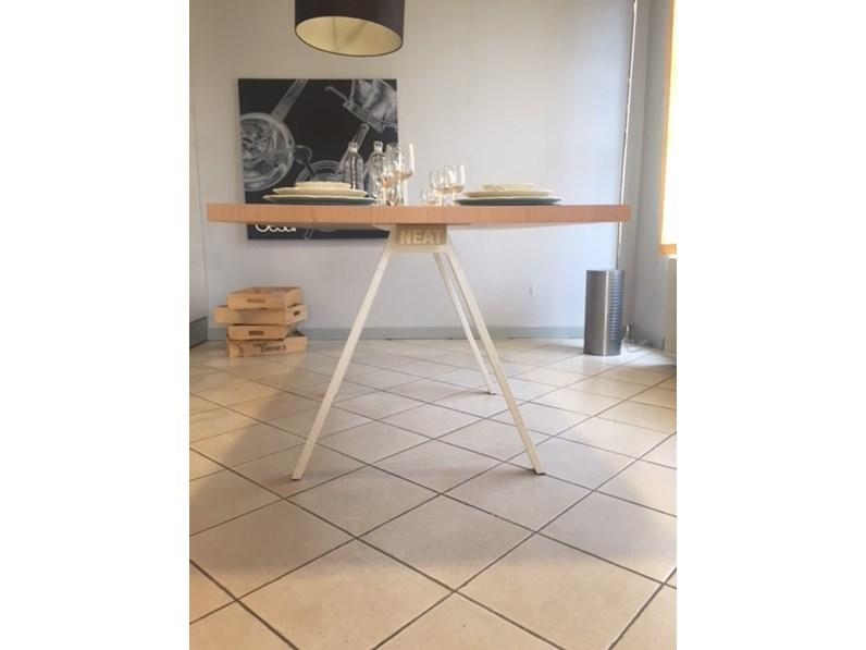 Tavolo neat kristalia in legno fisso for Kristalia outlet