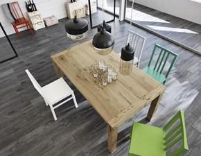 Tavolo Nevada Stones in legno Allungabile