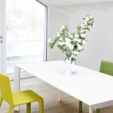 Tavolo nori rettangolare allungabile in vetro design for Tavoli in vetro design