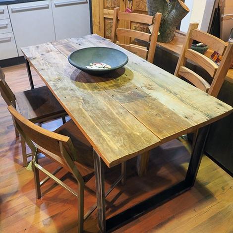 Tavolo nuovi mondi cucine tavolo allungabile industrial for Offerta tavolo allungabile
