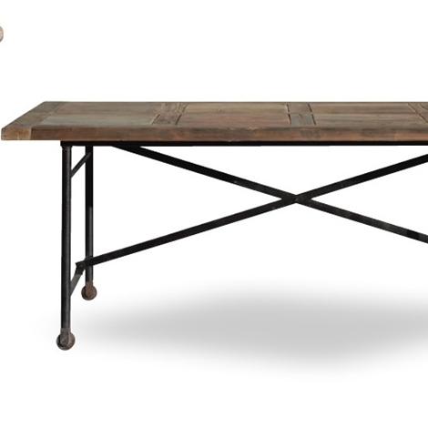 Tavolo nuovi mondi cucine tavolo convenienza con ruote - Tavolo con ruote ...