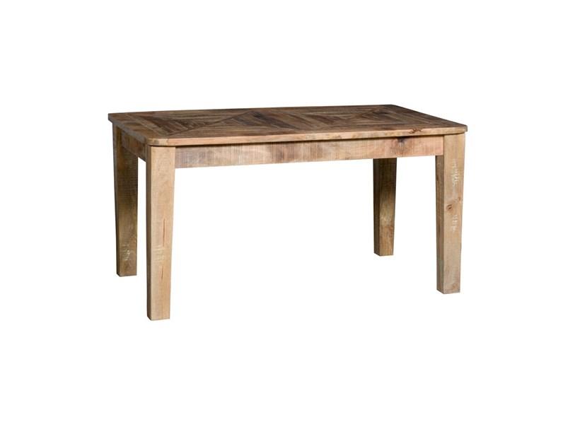 Tavolo nuovi mondi cucine tavolo in legno massello noce india legno di noce india allungabile - Tavoli rettangolari allungabili in legno ...