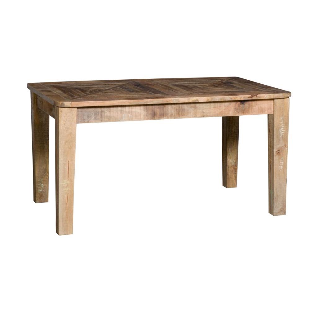 Tavolo nuovi mondi cucine tavolo in legno massello noce for Tavolo di legno allungabile