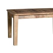 Tavolo in legno massello noce india legno di noce india allungabile Rettangolari Allungabili Legno