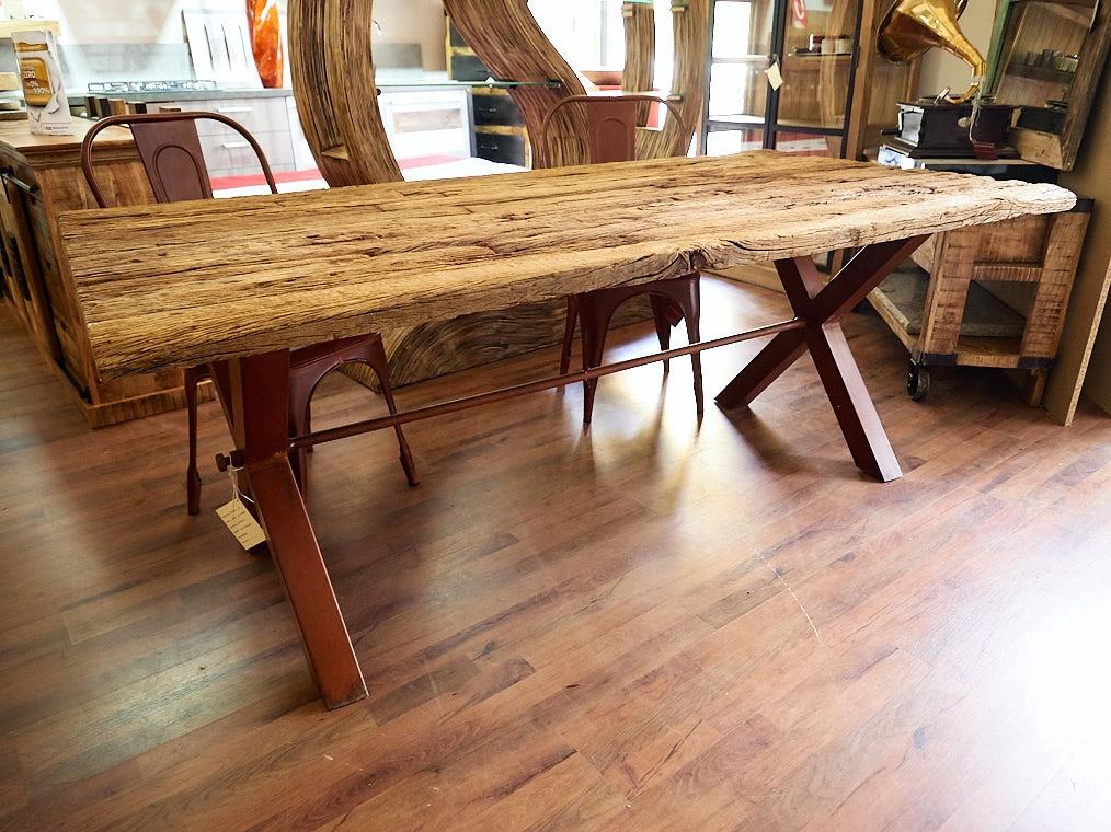 Tavolo nuovi mondi cucine tavolo old boat quercia misura cm 200 x 100 ultimo pezzo in offerta - Tavoli da falegname nuovi ...