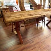 tavolo old boat quercia misura cm 200 x 100 ultimo pezzo in offerta  instle industrial vecchio ferro