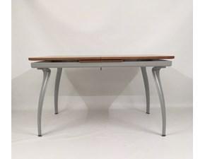 Tavolo Oscar 132 legno noce Bonaldo in legno Allungabile