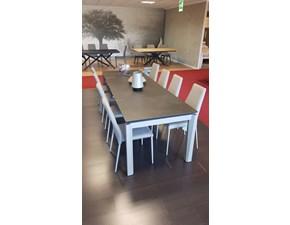 Tavolo Outlet calligaris tavolo esteso in ceramica Calligaris a prezzo ribassato 0%
