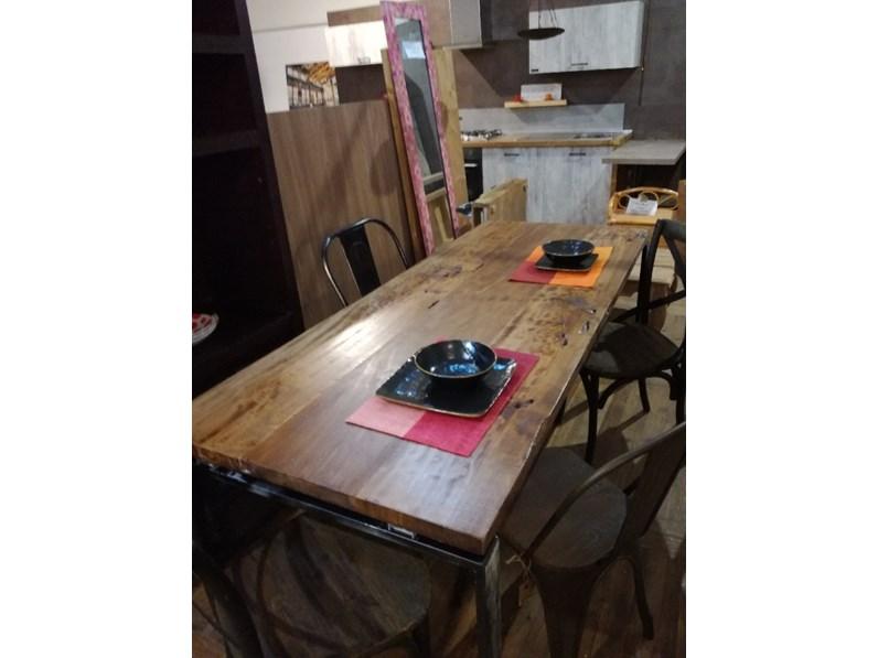 Tavolo outlet etnico legno massello radice di suar industrial prezzi outlet - Tavolo in legno massello prezzi ...