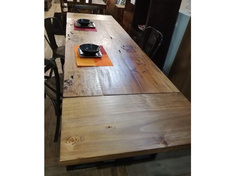 Tavolo outlet etnico legno massello radice di suar for Etnico outlet