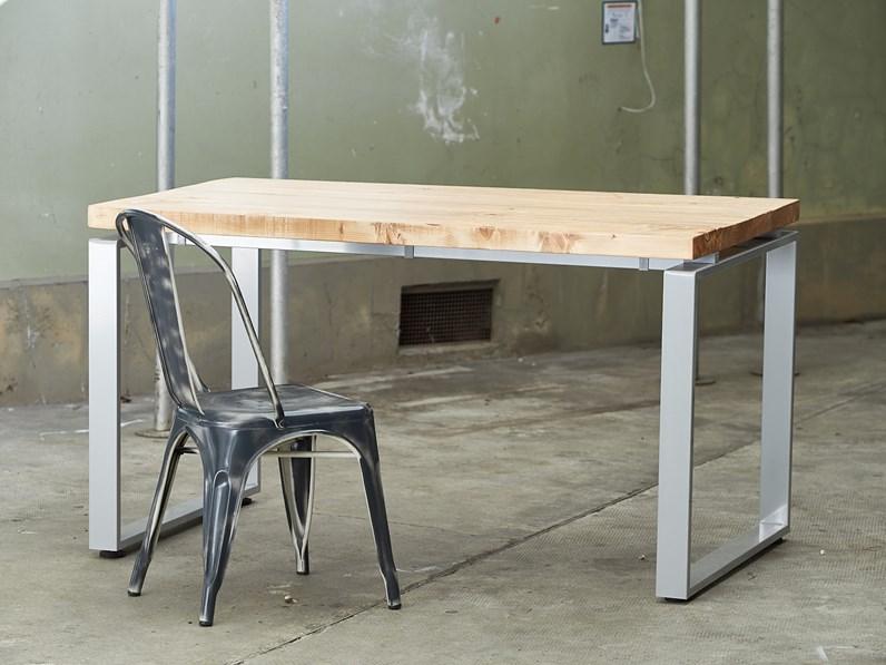 Tavolo Industriale Allungabile : Tavolo outlet etnico tavolo nature industry allungabile scontato