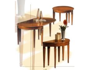 Tavolo ovale a quattro gambe Art.49 tavolo consolle allungabile Artigiani veneti scontato