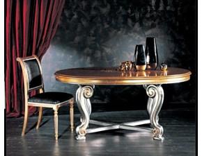 Tavolo ovale a quattro gambe Modello i solisti Artigianale scontato