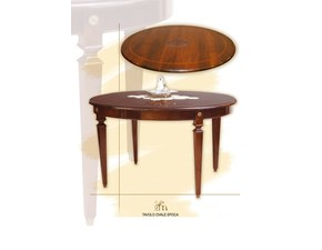 Tavolo ovale a quattro gambe Ovale epoca art.47  Artigiani veneti scontato